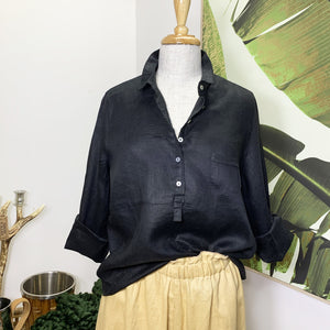 Breeze shirt - black