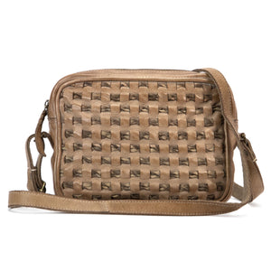 Weaving Wonders Crossbody - Sand