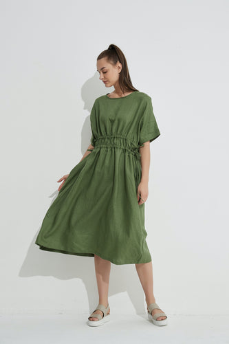 Harper Dress / Ivy Green