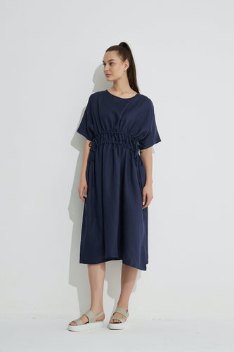 Harper Dress / Navy