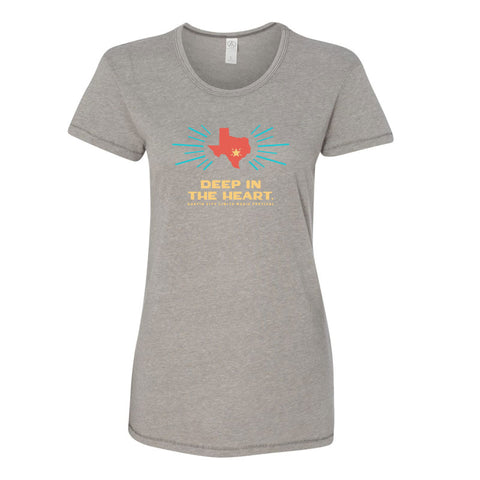 2017 Women's Deep in the Heart Lineup Tee