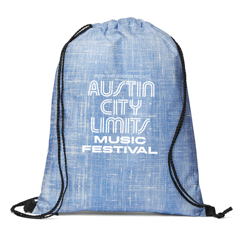 ACL Fest Denim Cinch Bag