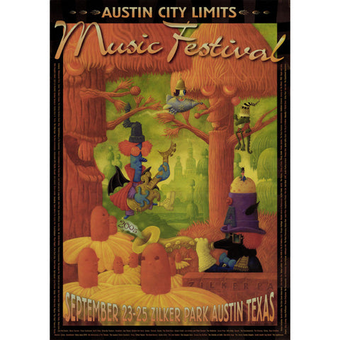 2005 ACL Festival Commemorative Poster