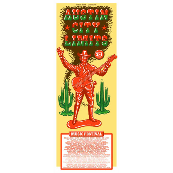 2009 ACL Festival Commemorative Poster