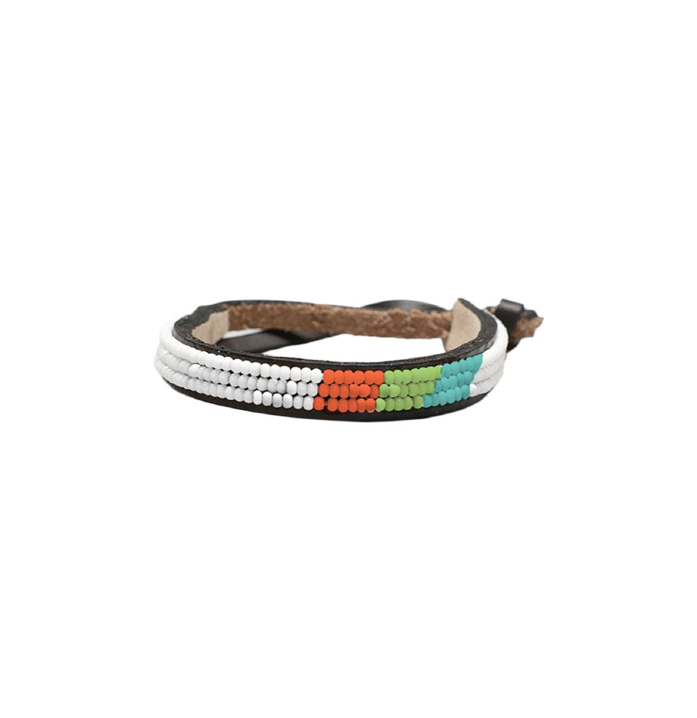 Ubuntu Thin Bracelet - Diagonal Stripes