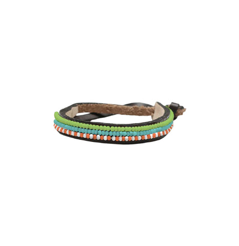 Ubuntu Thin Bracelet - Horizontal Stripes