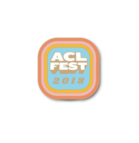 ACL 2018 Enamel Pin