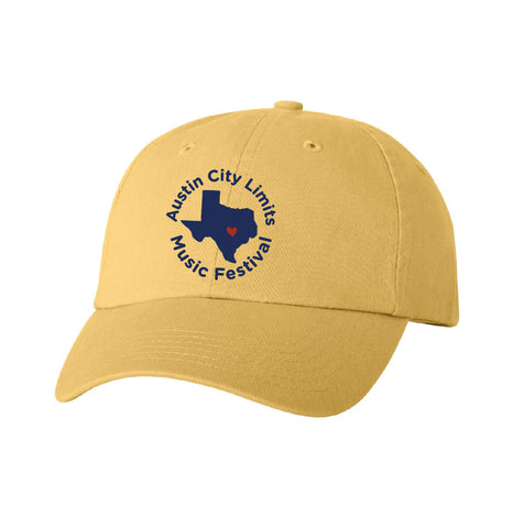 Texas Dad Hat in Butter