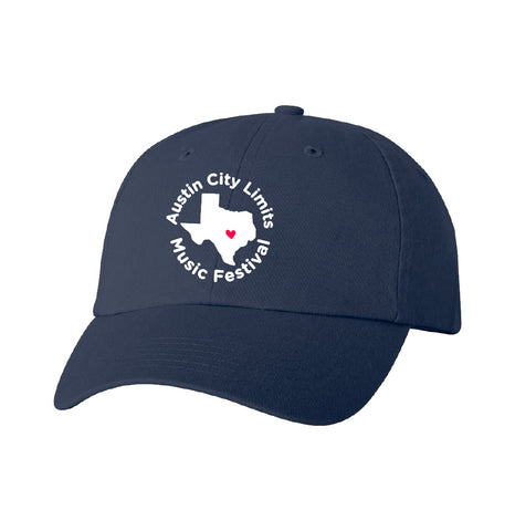 Texas Dad Hat in Navy