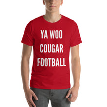 Load image into Gallery viewer, Ya Woo Cougar Football T-Shirt