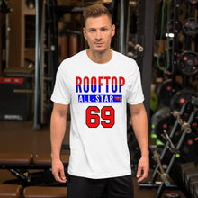 Load image into Gallery viewer, ROOFTOP ALL STAR! T-Shirt White