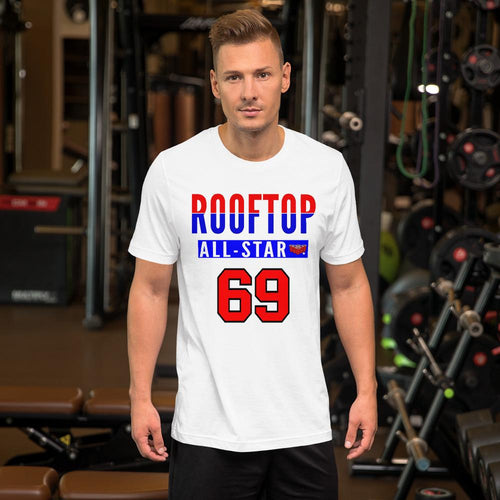 ROOFTOP ALL STAR! T-Shirt White