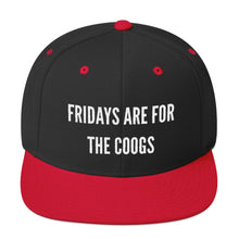 Load image into Gallery viewer, Fridays Are For The Coogs! Snapback Hat
