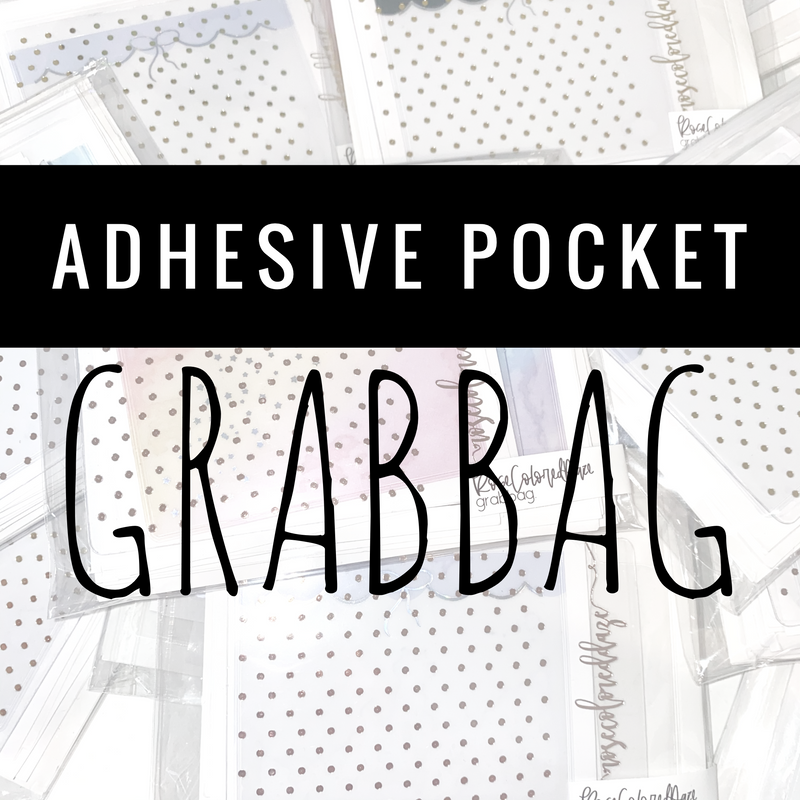 Adhesive Pocket GRABBAGS