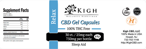 CBD Capsules Sleep Support