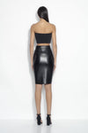 Faux Leather Pencil Skirt - JoeyRae