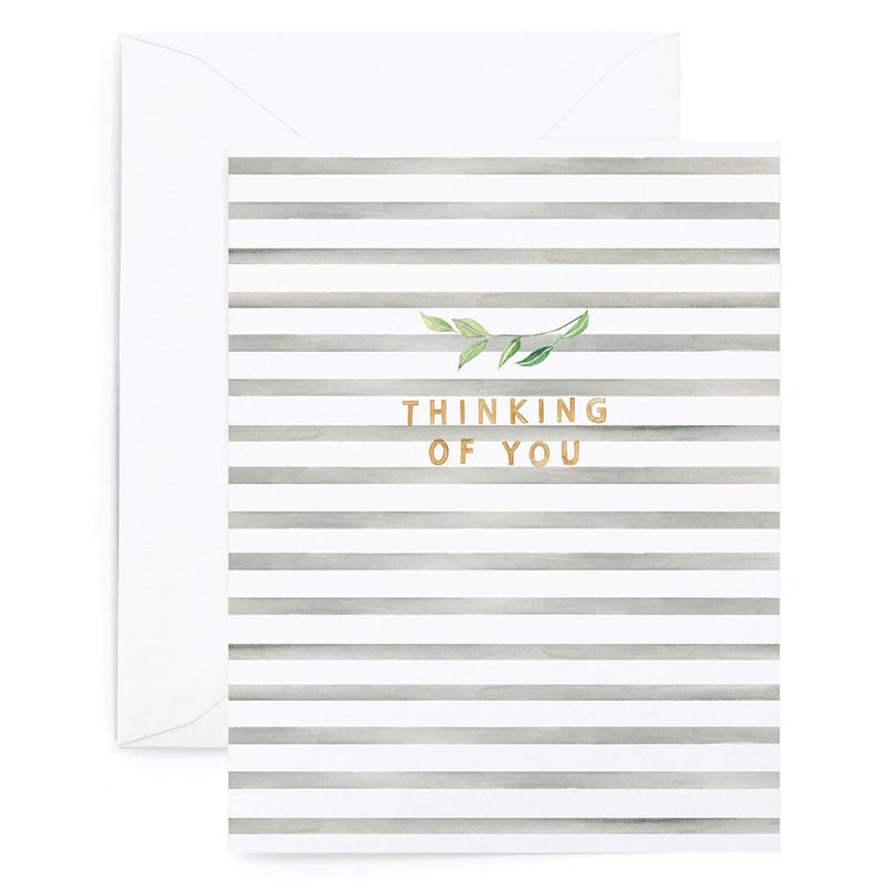 Thinking of You Stripes Card - JoeyRae