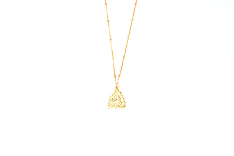 Triangle Mary Necklace - JoeyRae