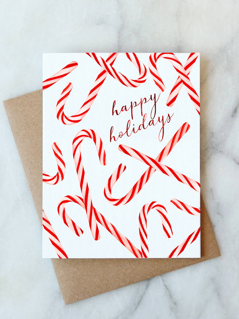 Candy Canes Card - JoeyRae