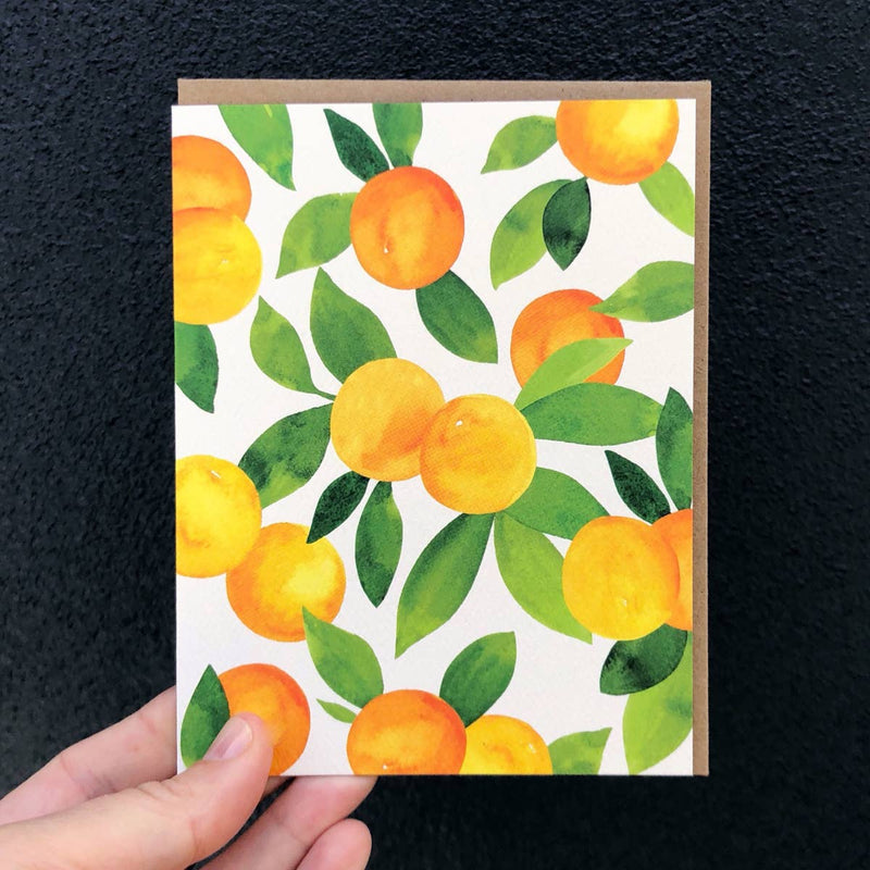 Oranges Blank Cards | Set of 6 - JoeyRae