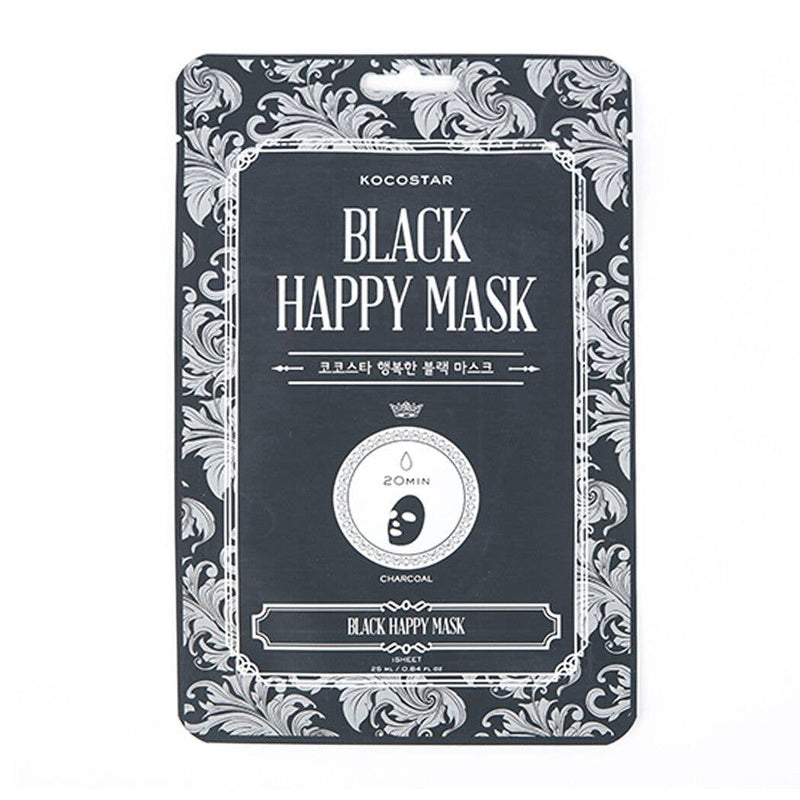 Black Happy Mask - JoeyRae