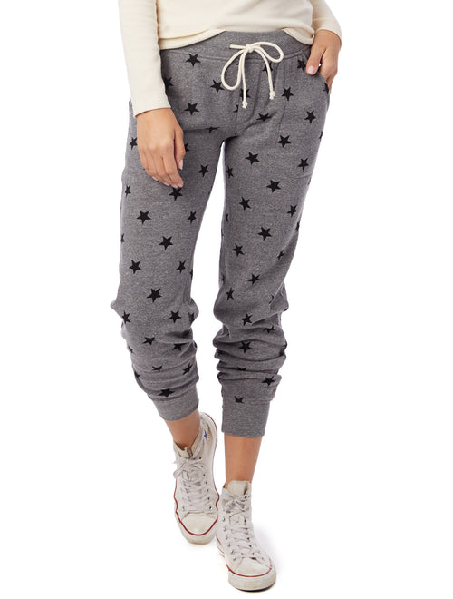 Printed Fleece Jogger - JoeyRae