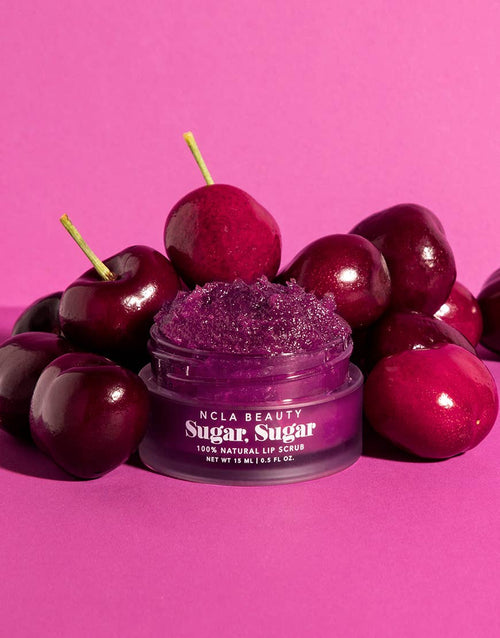 Sugar Sugar Black Cherry Lip Scrub - JoeyRae