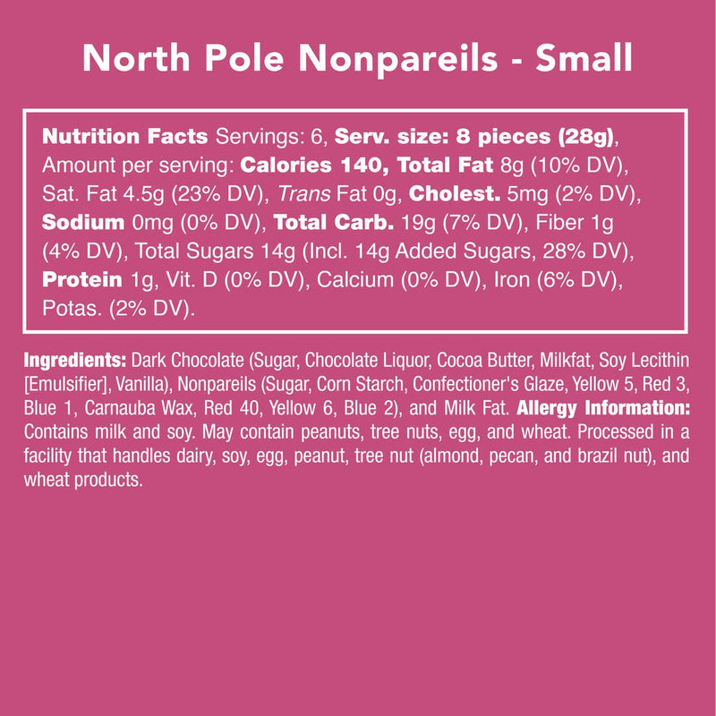 North Pole Nonpareils