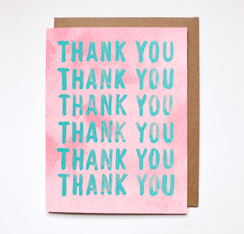 Repeat Thank You Card - JoeyRae