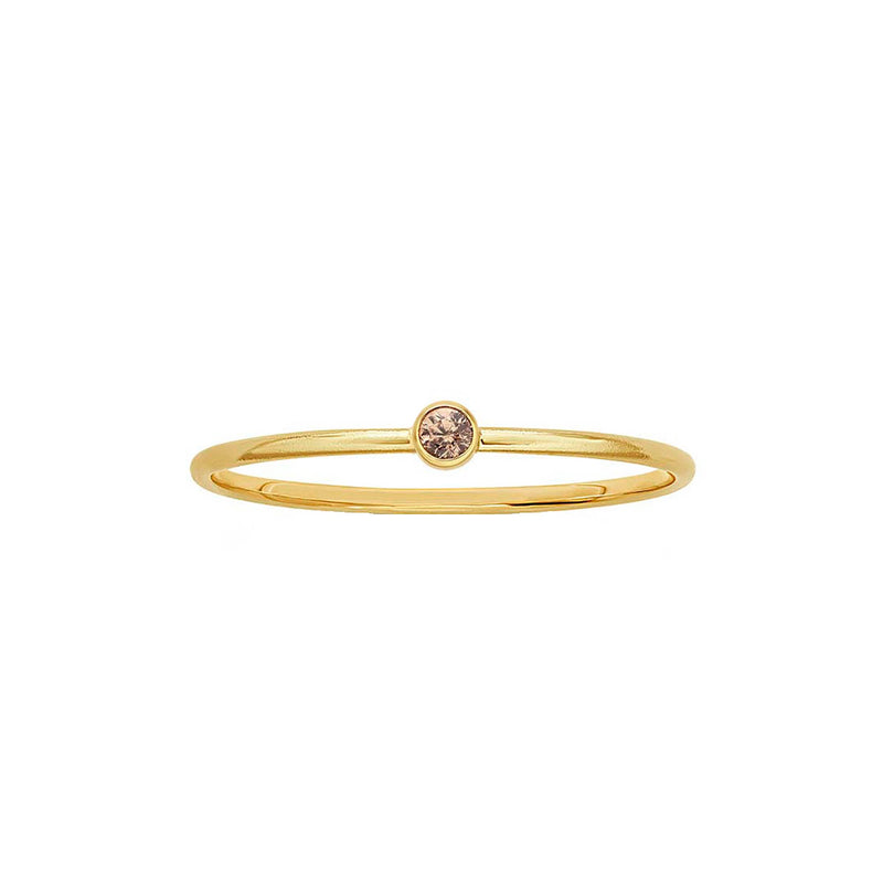 Champagne Stacking Ring