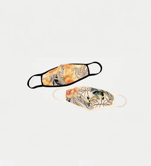 The Elle Mask Floral Assorted - JoeyRae