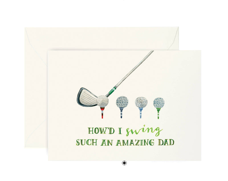 Golf Dad Card - JoeyRae