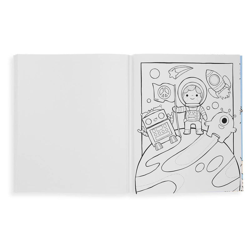 Color-in' Book: Outer Space Explorers - JoeyRae