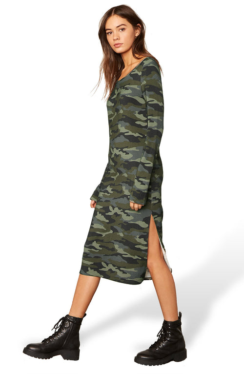 Can You See Me Now Camo Dress - JoeyRae