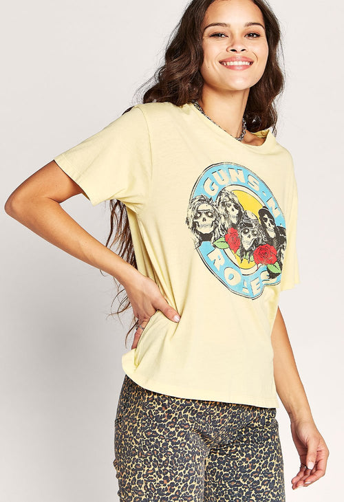 GNR Welcome to the Jungle Boyfriend Tee - JoeyRae