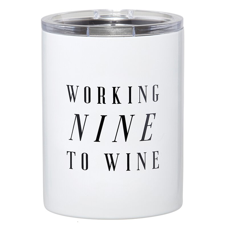 12oz Working Nine to Wine - JoeyRae