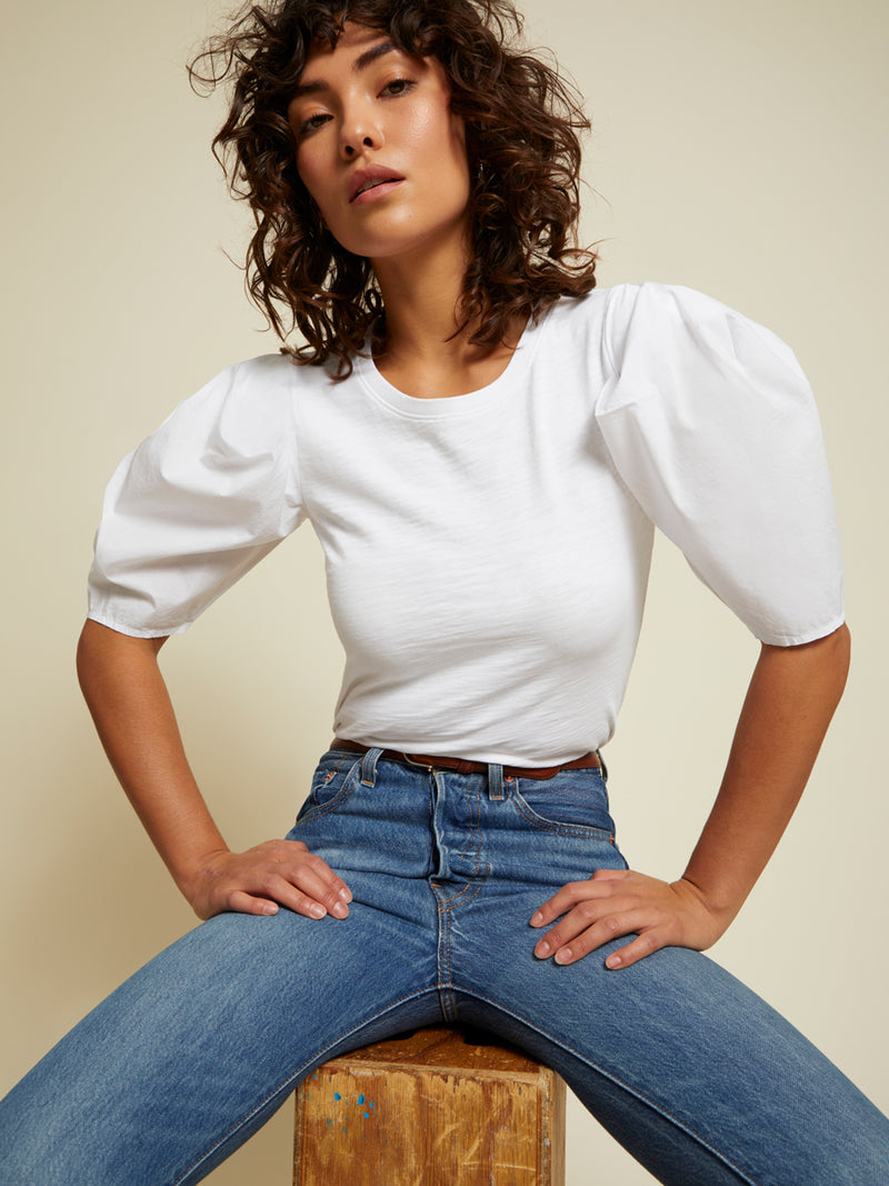 Radhika Bold Shoulder Top - JoeyRae