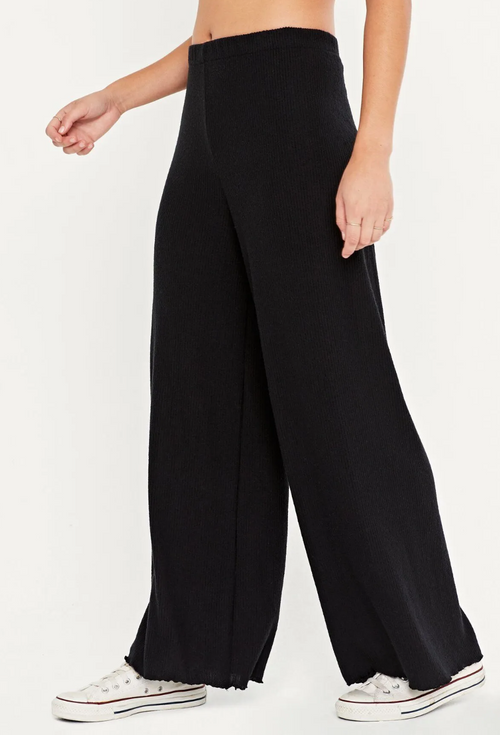 Ride Cozy Rib Wide Leg Pant - JoeyRae