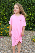 Kid's No Bad Days Tee Dress - JoeyRae