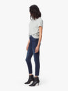 The High Waisted Looker Ankle Fray Tongue in Chic - JoeyRae