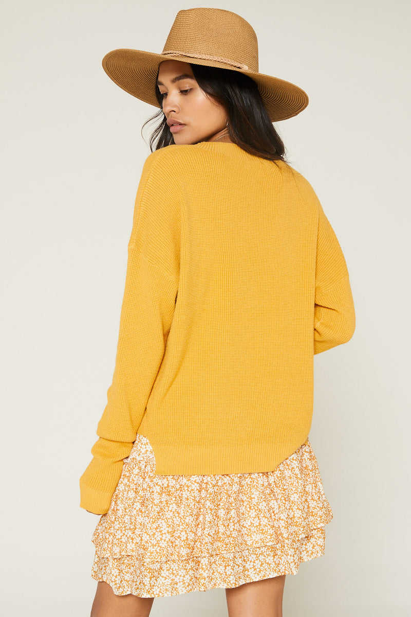 Mimi Long Sleeve Sweater - JoeyRae
