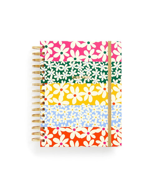 17 Month Medium Planner - Daisies - JoeyRae
