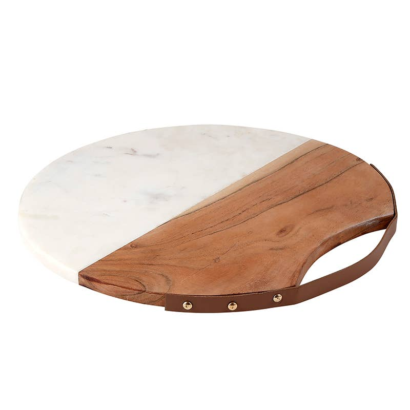 Acacia Wood and Marble Board - JoeyRae