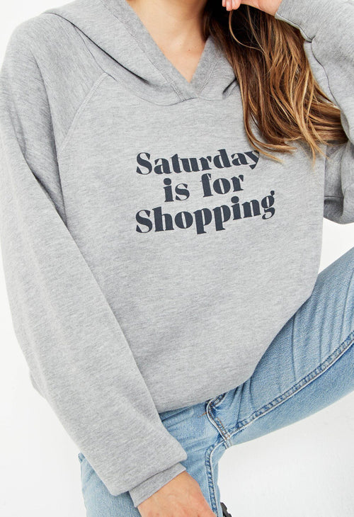 Saturday Shopping Reversible Sweatshirt - JoeyRae