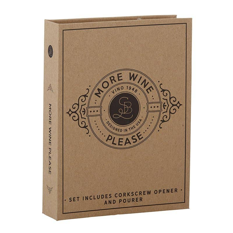 Wine Cardboard Book Set - JoeyRae