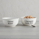 Cereal Killer Ceramic Bowl - JoeyRae
