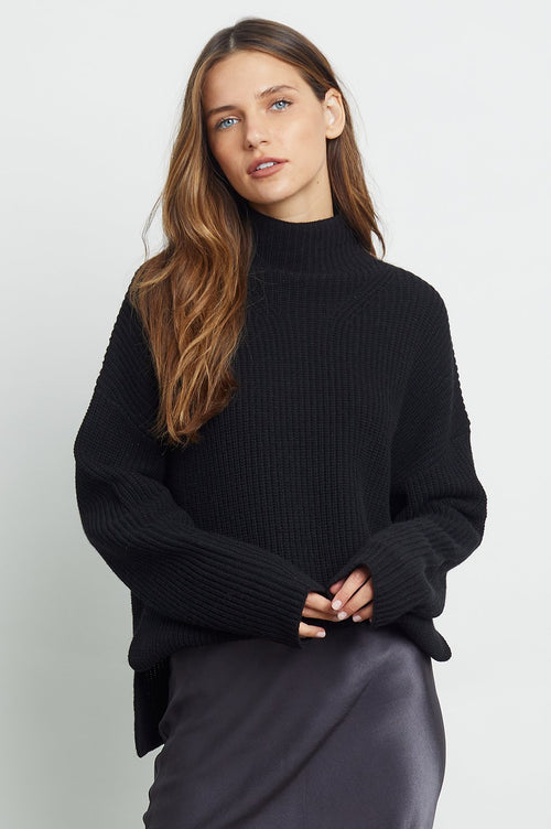 Claudia Sweater Black - JoeyRae