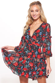 Catch Me If You Can Floral Dress