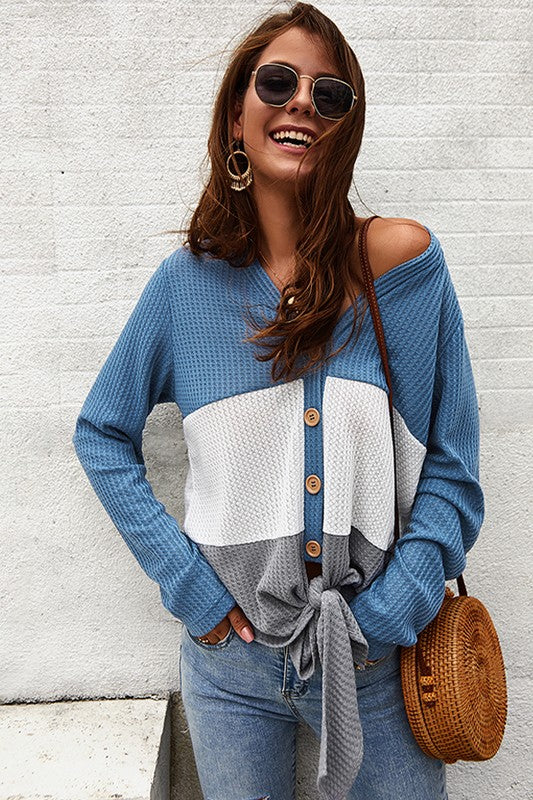 Keeley Stripe Knit Top