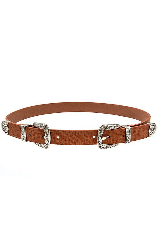 So Edgy Buckle Belt